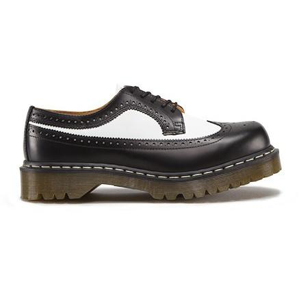 DR.MARTENS 3989 BEX BLACK & WHITE SMOOTH 398996019