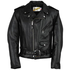 Schott Classic Perfecto Leather Motorcycle Jacket - Long Sizes 118L