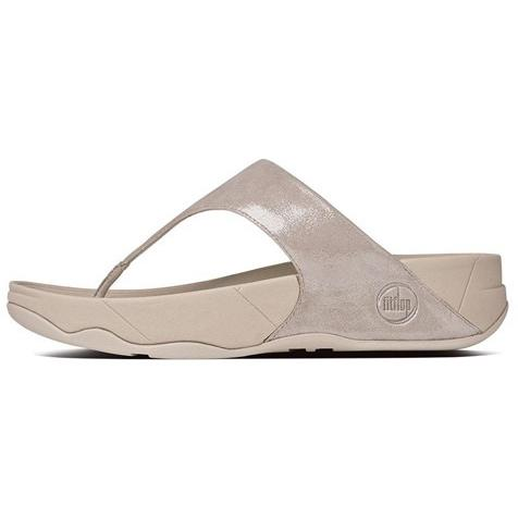 FITFLOP Lulu Shimmersuede Nude 505-137