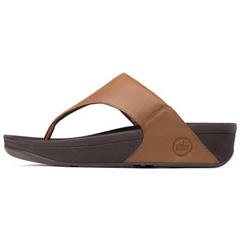 FITFLOP LULU(TM) IN LEATHER Toffee Tan 288-113