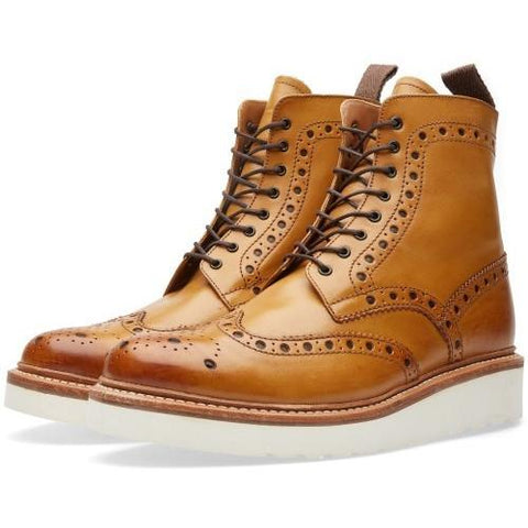 Grenson Fred G:Two Collection Boot Tan 110012