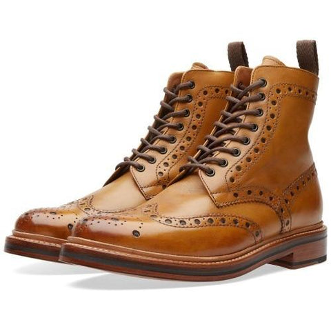 Grenson Fred G:Two Collection Boot Tan 110011