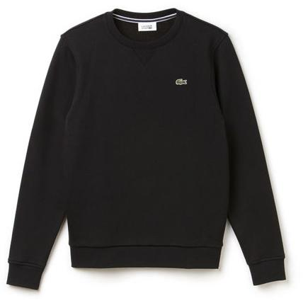 LACOSTE FLEECE C.NECK SWEATSHIRT Black SH7613-51 031