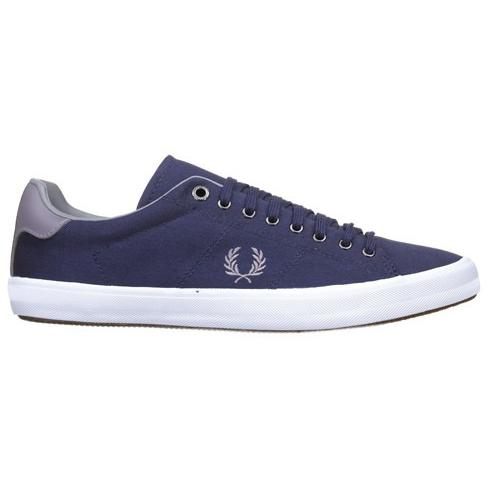 FRED PERRY HOWELLS TWILL B7467-584 CARBON BLUE