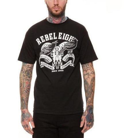 REBEL8 Ravens Tee Black 315A010901