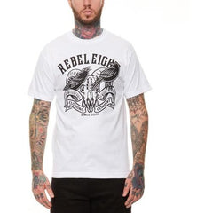 REBEL8 Ravens Tee White 315A010900
