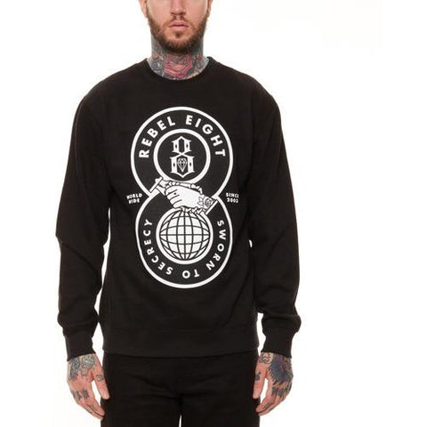 REBEL8 Sworn to Secrecy Crewneck 315B040601