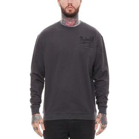 REBEL8 Bolted Crewneck 315A040301