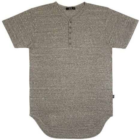 EPTM Top EP5257-H.GREY HENLEY