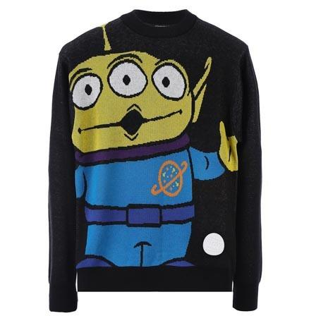 JOYRICH OOOHHHH!!! ALIEN SWEATER / BLACK 15-473-00302-BLK
