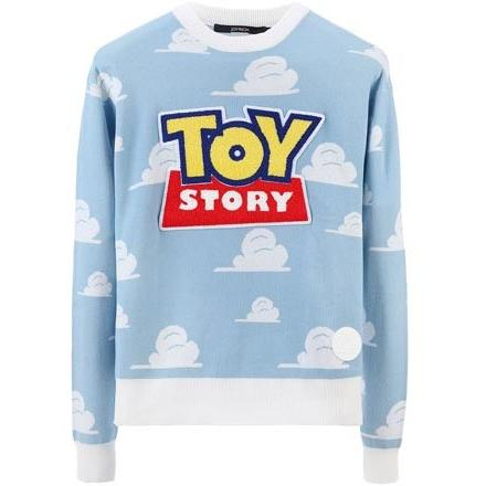 JOYRICH OPEN LOGO SWEATER / LIGHT BLUE 15-473-00301-LIB