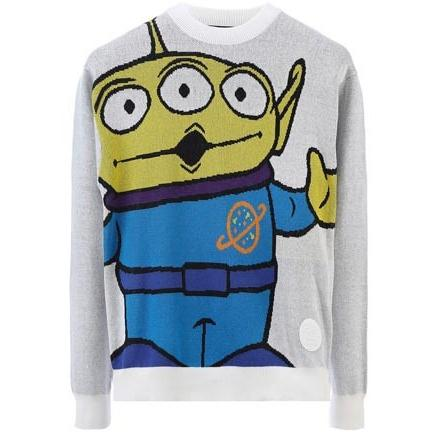 JOYRICH OOOHHHH!!! ALIEN SWEATER / OFF WHITE 15-473-00302-OFW