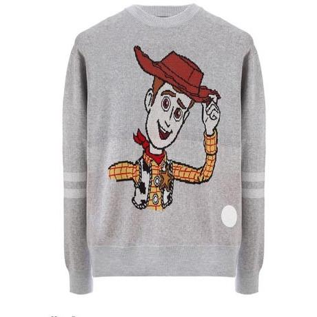 JOYRICH WOODY PROFILE SWEATER / H/GRAY 15-473-00305-HGR
