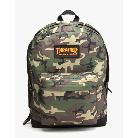 Thrasher Magazine Logo Backpack Camo 313808