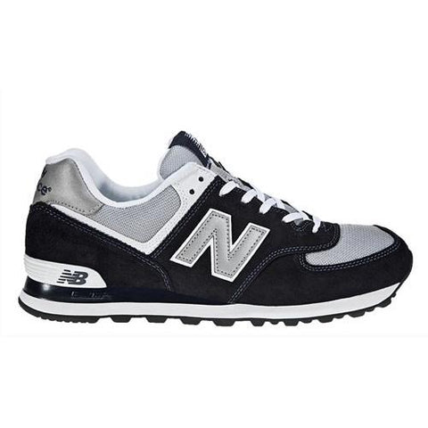 NEW BALANCE Original Classic Sneaker Navy with Light Grey&White M574BGS