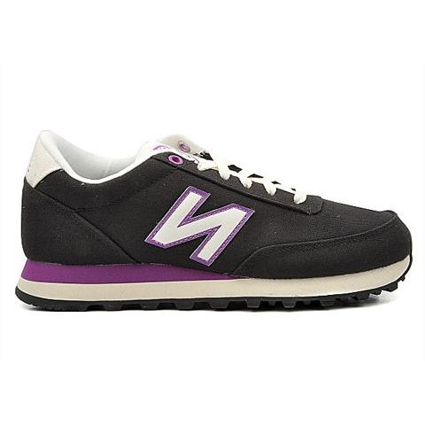 NEW BALANCE Classics Casual Running Shoes Black/Purple WL501SBV