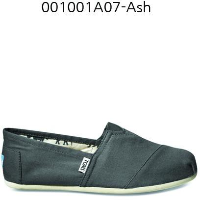 Toms Canvas Men's Classic 001001A07 Ash