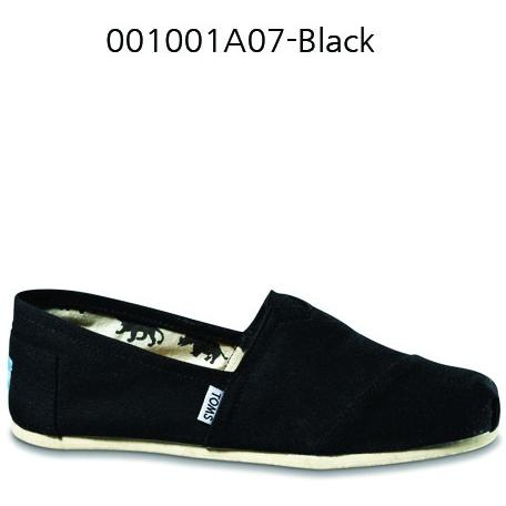 Toms Canvas Men's Classic 001001A07 Black