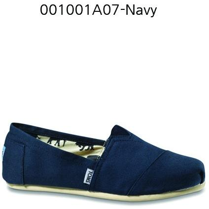 Toms Canvas Men's Classic 001001A07 Navy