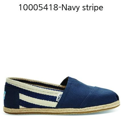 Toms Stripe University Men's Classic 10005418 Navy