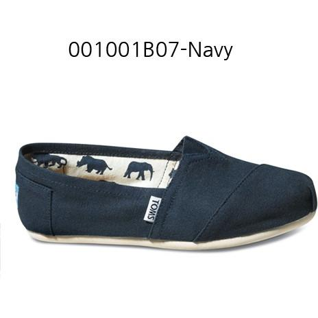 Toms Canvas Women's Classic 001001B07 Navy