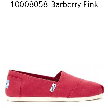TOMS WOMENS CLASSIC BARBERRY in PINK