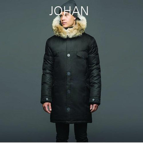 NOBIS Johan Mens Down Jacket Black JOHAN_SE