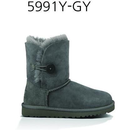UGG YOUTH BAILEY BUTTON Black 5991Y