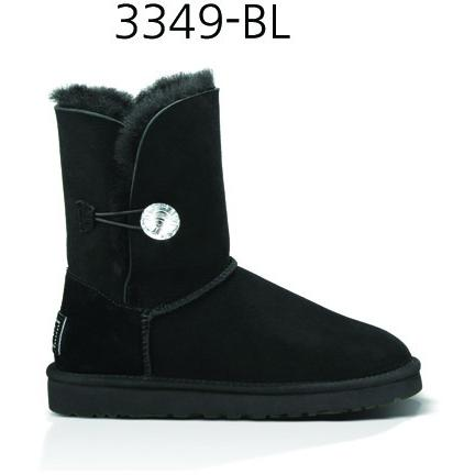 UGG Australia BAILEY BUTTON BLING 3349-BLK