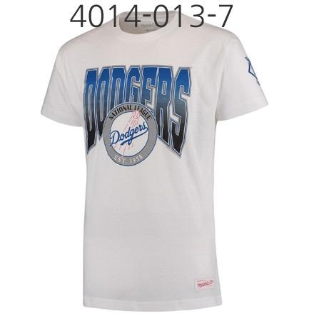 MITCHELL & NESS Play By Play Traditional Tee White 4014-013-7LADYRG