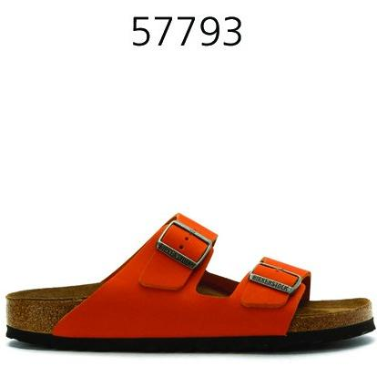BIRKENSTOCK Womens Arizona Sandal Orange/Nubuck 57793