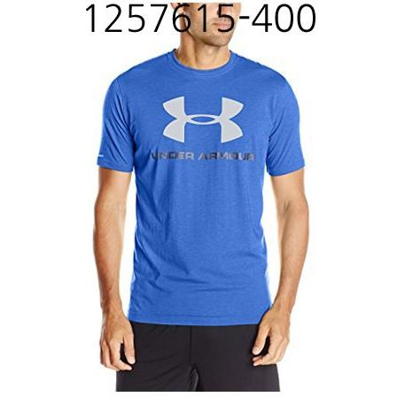 UNDER ARMOUR Mens Sportstyle Logo T-Shirt Royal/Midnight Navy/Steel 1257615-400
