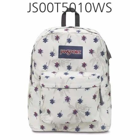 JANSPORT Superbreak Backpack Multi/Black/MovingDots JS00T5010WS