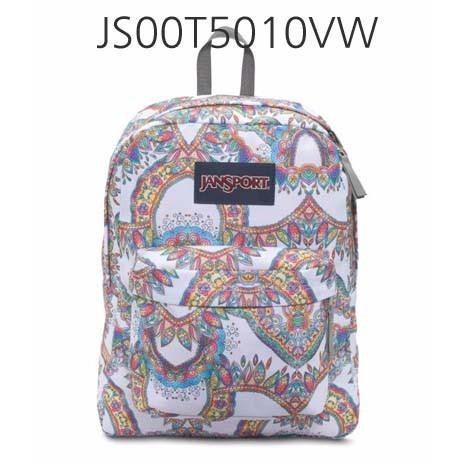 JANSPORT Superbreak Backpack Mult/SummerFestival JS00T5010VW
