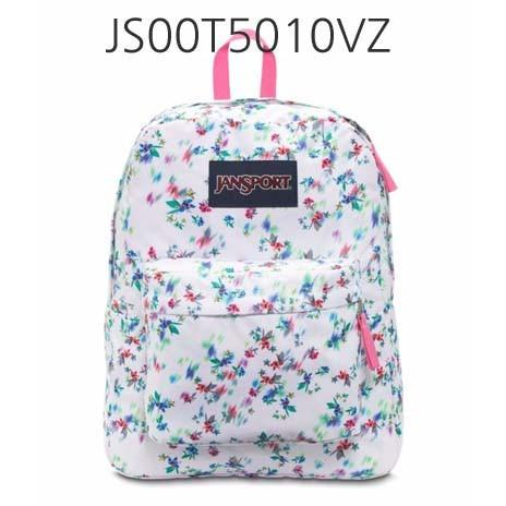JANSPORT Superbreak Backpack Mult/WhitefloralHaze JS00T5010VZ