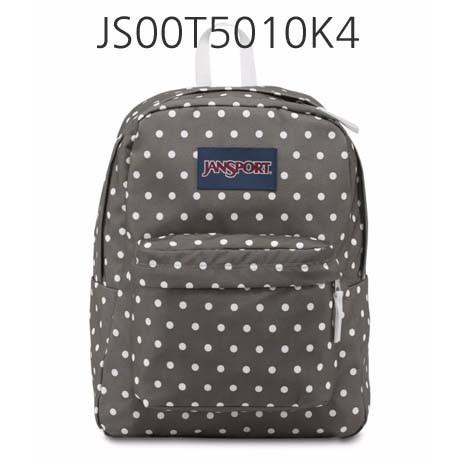 JANSPORT Superbreak Backpack Shady/Grey/WhiteDots JS00T5010K4