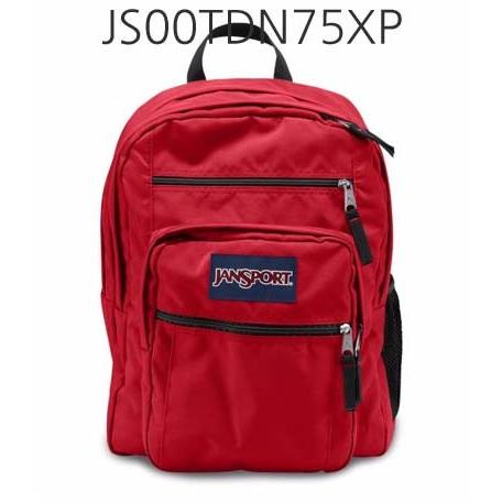 JANSPORT Big Student Backpack Red/Tape JS00TDN75XP