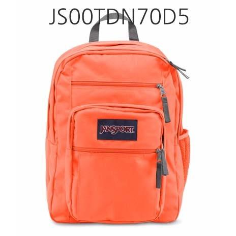 JANSPORT Big Student Backpack Tahitian/Orange JS00TDN70D5