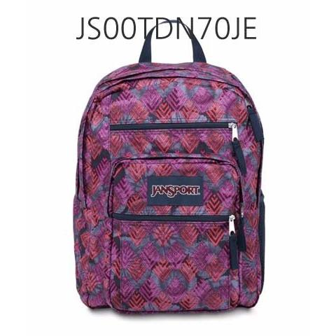 JANSPORT Big Student Backpack Multi/DiamondArrows JS00TDN70JE