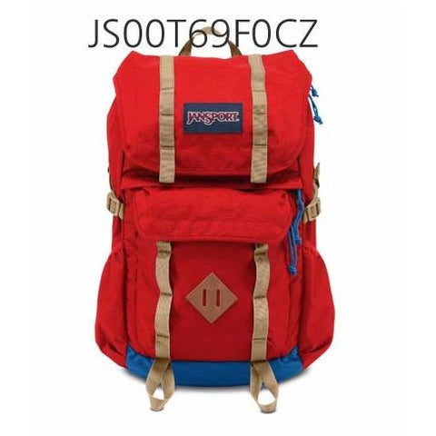 JANSPORT Javelina Backpack Red/Tape JS0A2T315XP