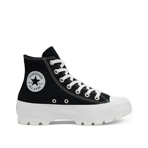 Converse Chuck Taylor All Star Lugged High Top Black/White/Black 565901C