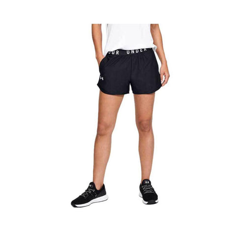 Under Armour Women's Play Up Shorts 3.0 Black - Black 1344552-001