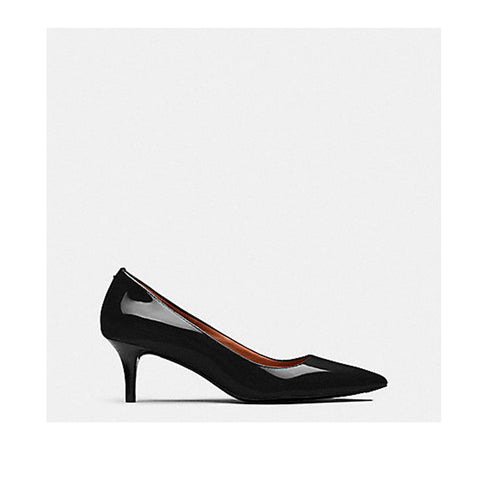 Coach Mid Heel Pump Black FG1479