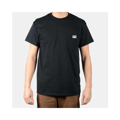 Ben Davis Classic Label Pocket T-Shirt Black 9024