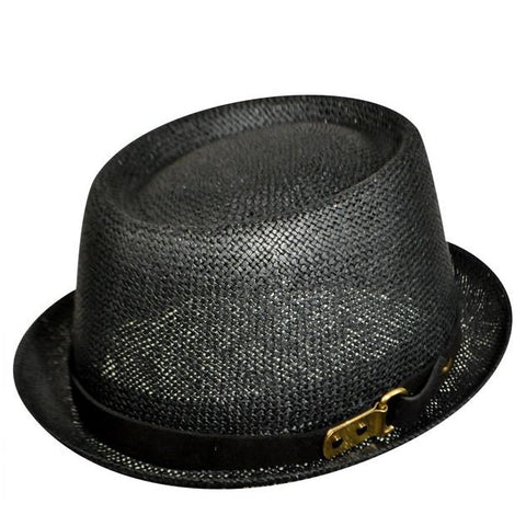 Kangol Metal Pork Pie K1989ST Black