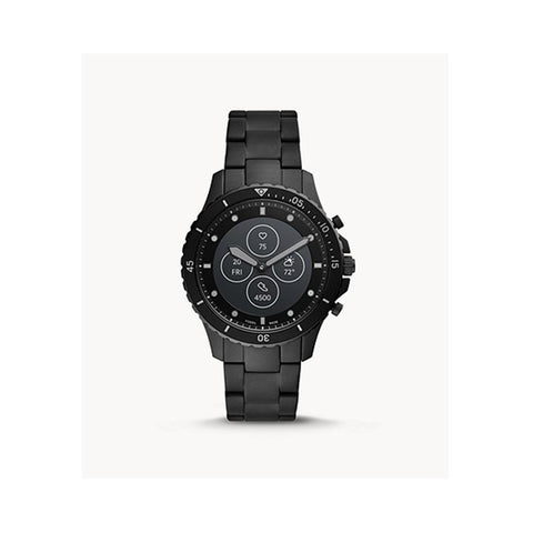 Fossil Hybrid Smartwatch HR FB-01 Black Stainless Steel  FTW7017