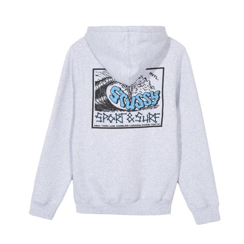 Stussy Sport & Surf Hood Ash Heather 2921684