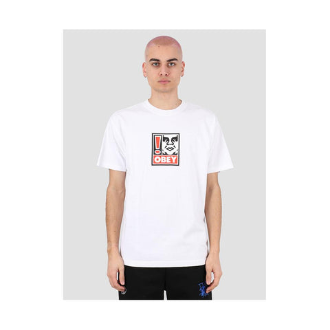 Obey Exclamation Point White 166912250