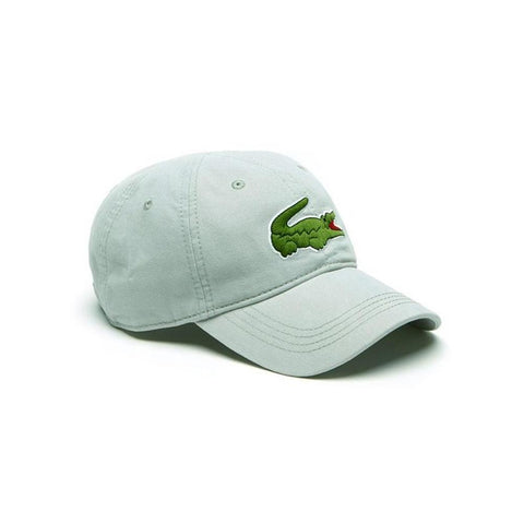 Lacoste Men's Big Croc Gabardine Cap Forest blue RK8217-51-PHO