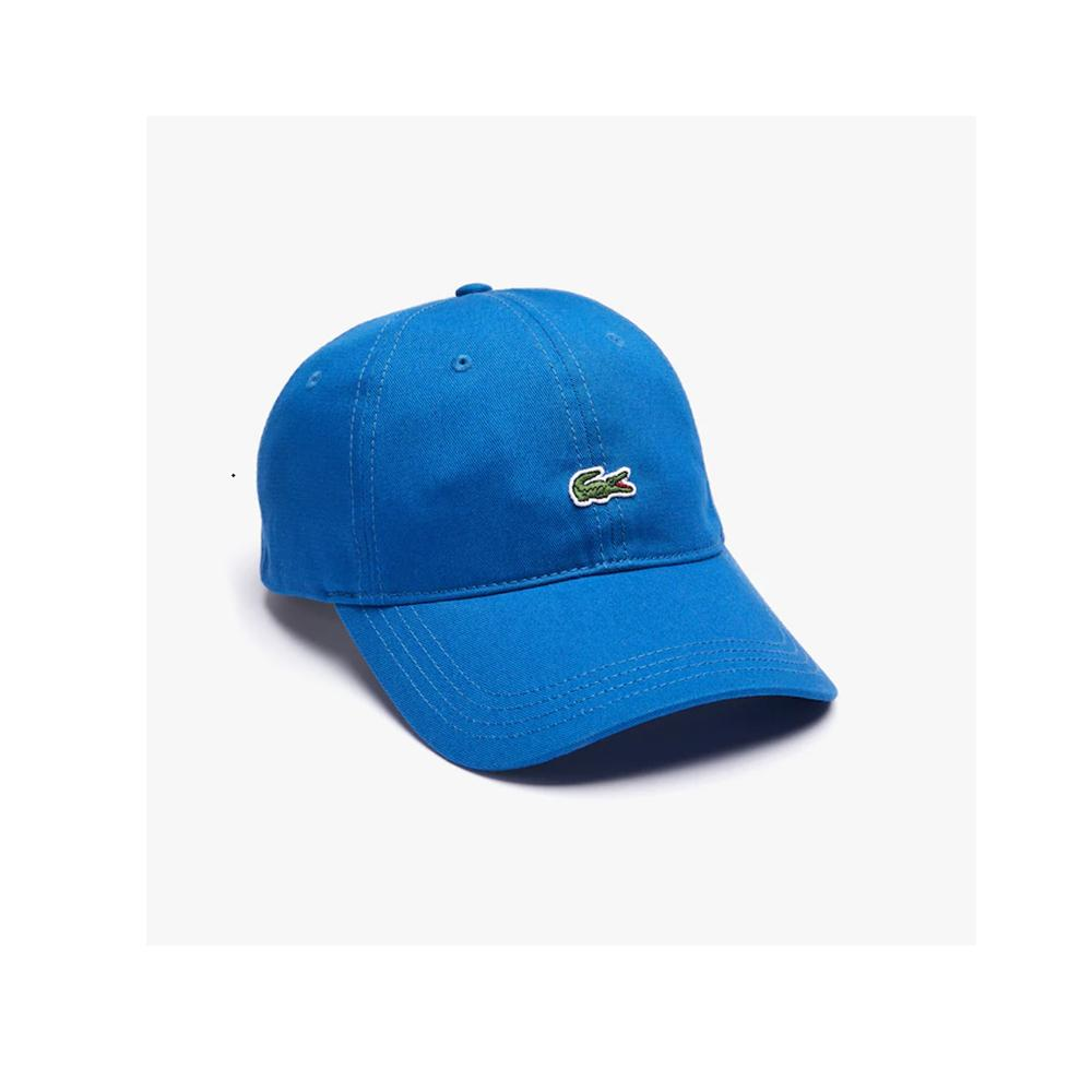 Lacoste Contrast Strap Cotton Twill Cap Electric RK4714 Z7Z